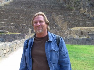Shaman Jon Rasmussen in the Sacred Valley of Peru